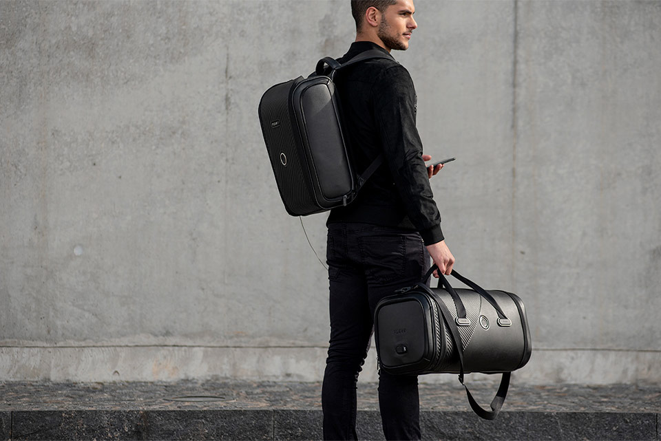 Plevo Smart Backpack with Face ID
