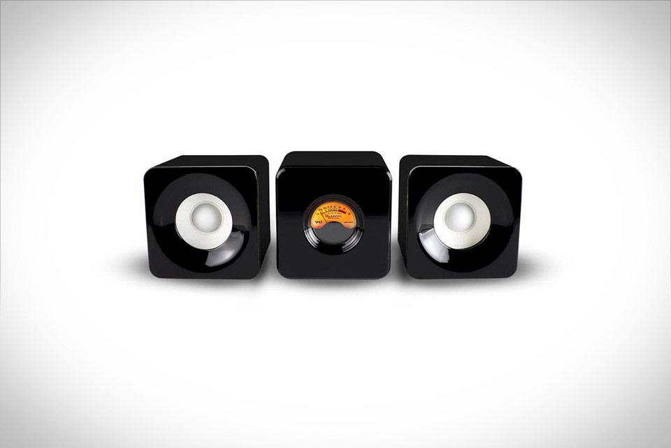 Meters Cubed Bluetooth Home Micro Audio System by Ashdown
