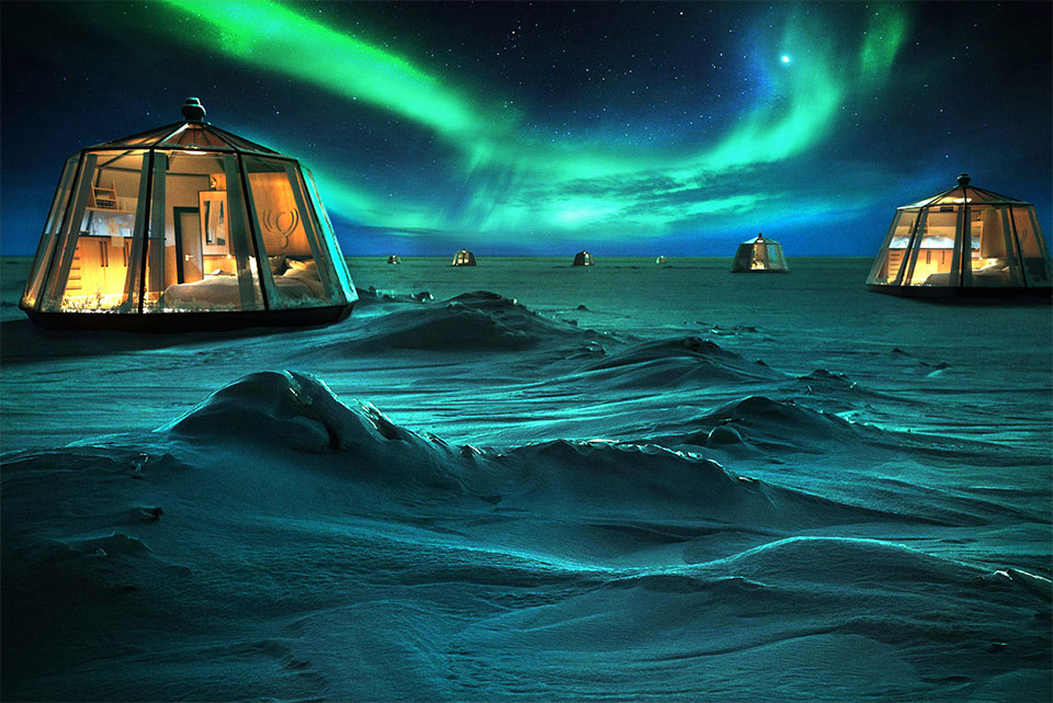 North Pole Igloos Hotel is something you need in your life's to-do list
