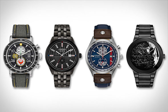 Star Wars Limited Edition Watches by Citizen