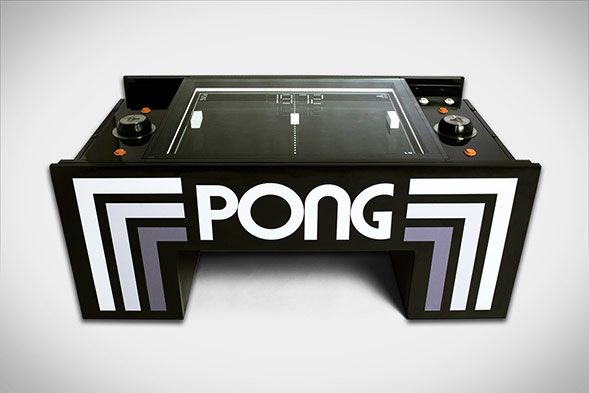 The Atari Pong Coffee Table brings back the classic