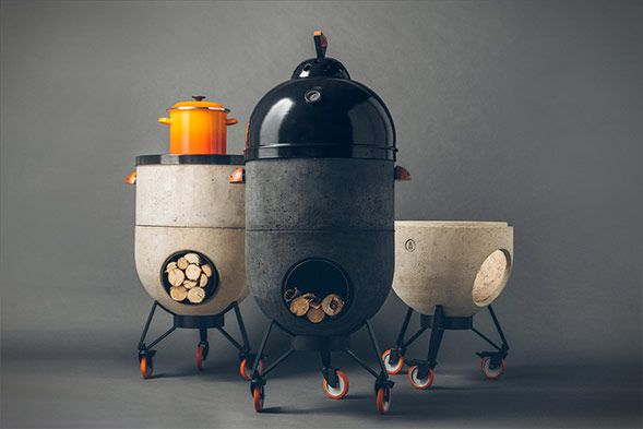 Noori Modular Grill with 4 Traditional Cooking Styles