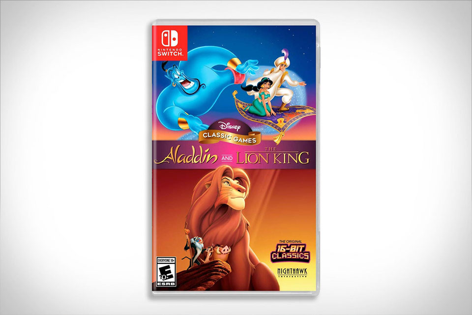 Aladdin and The Lion King is reborn for Nintendo Switch