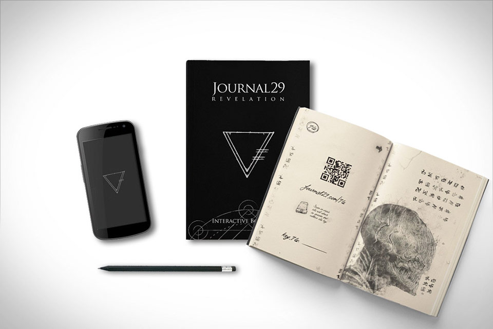 Journal 29 Revelation - Interactive Book Game
