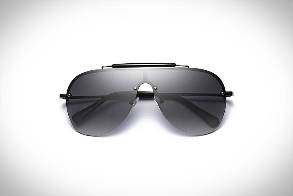 Bevi Polarized Aviator Sunglasses