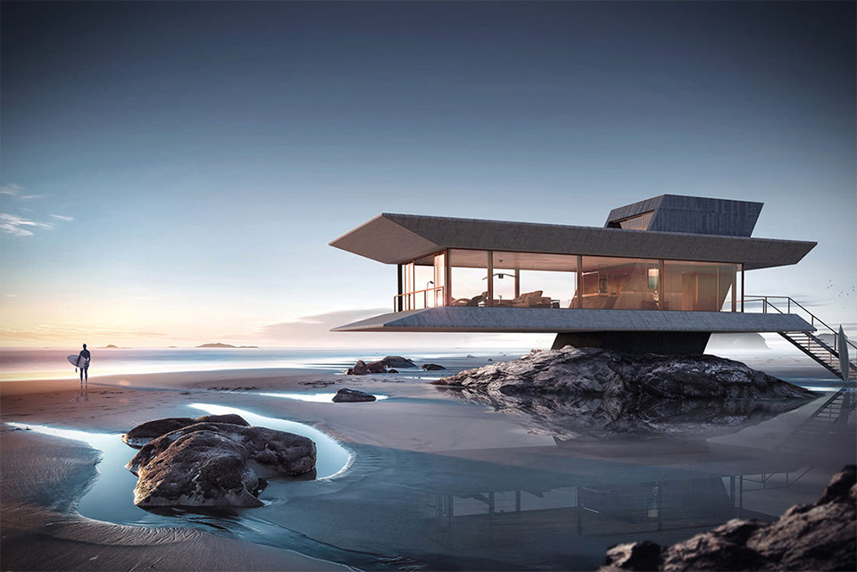 Monolit Beach House is mesmerizing