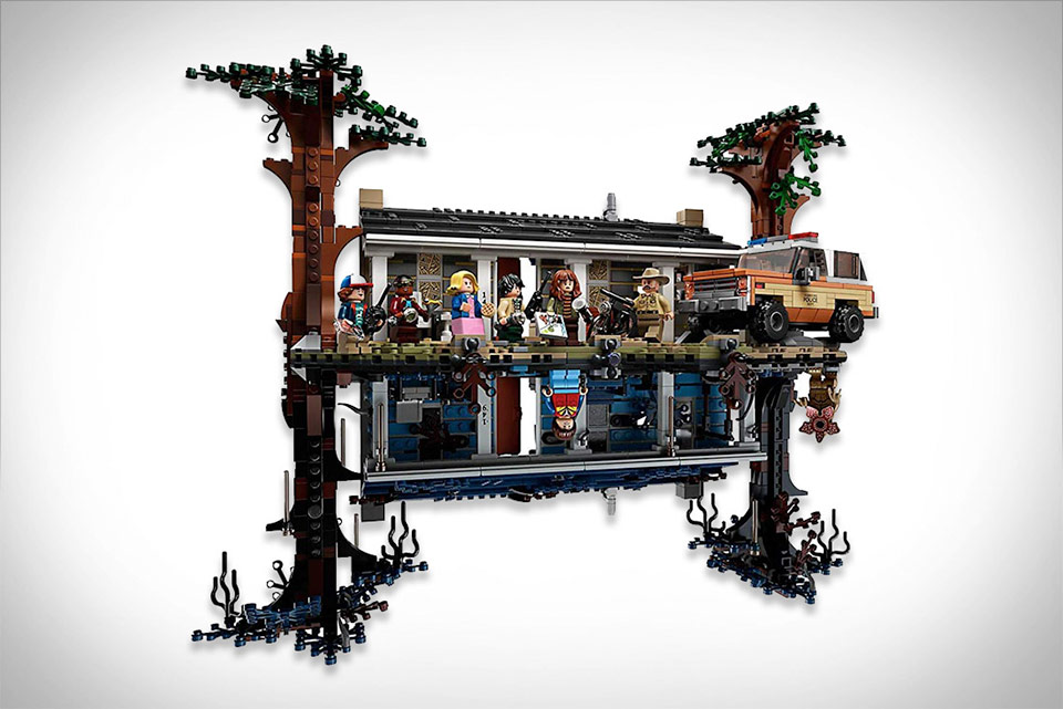 Stranger Things The Upside Down LEGO
