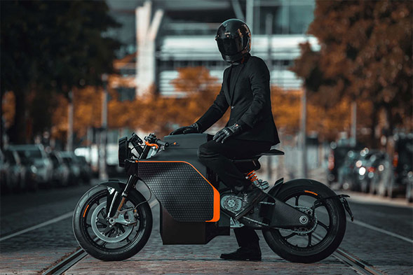 Saroléa N60 MM.01 Electric motorcycle