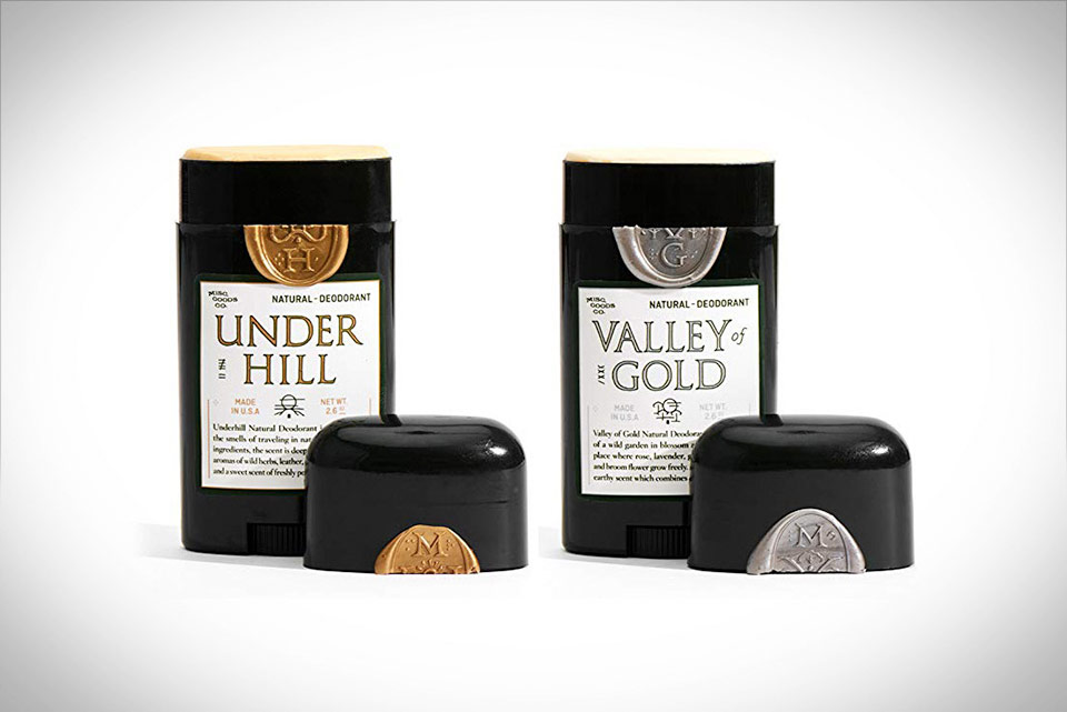 Natural Deodorant Valley of Gold and Underhill