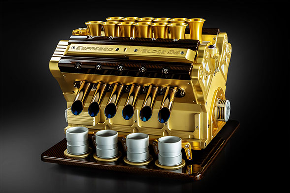 Espresso Veloce Royal coffee machine