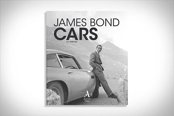 James Bond Cars Book