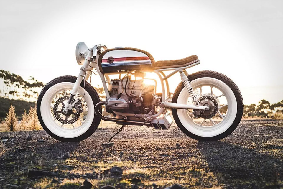 Hutchbilt custom BMW R80 motorcycle