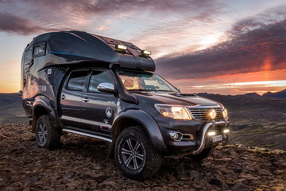 Toyota Hilux Expedition V1 is Indestructible travel adventure