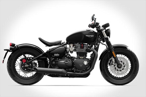 Triumph Bonneville-Bobber Motorcycle