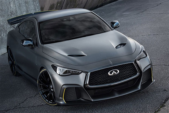 Infiniti Project Black S has the purpose of F1