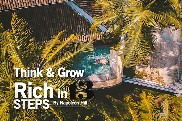Think and Grow Rich in 13 steps
