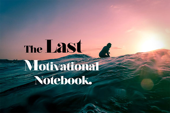 The last motivational notebook