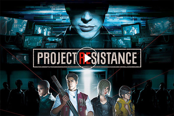 Resident Evil Project Resistance got a Teaser