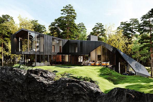 Aston Martin Sylvan Rock House