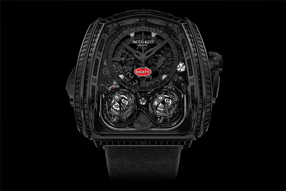 Jacob & Co. x Bugatti Twin Turbo Furious watch