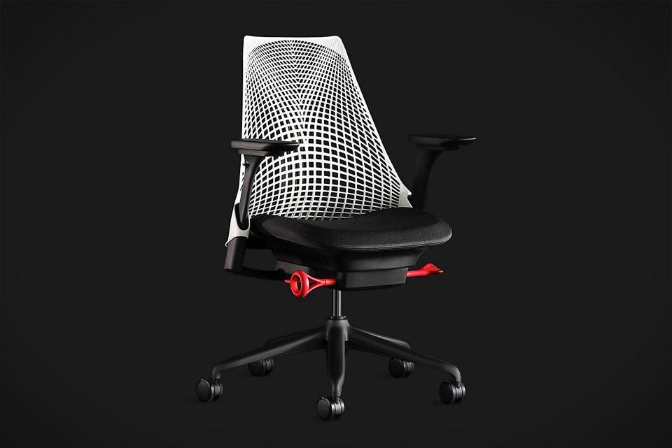 Herman Miller Sayl Chair Gaming Edition White