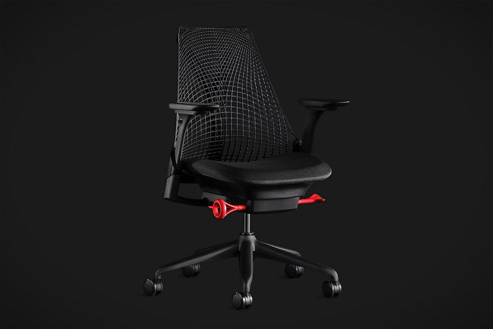 Herman Miller Sayl Chair Gaming Edition Black