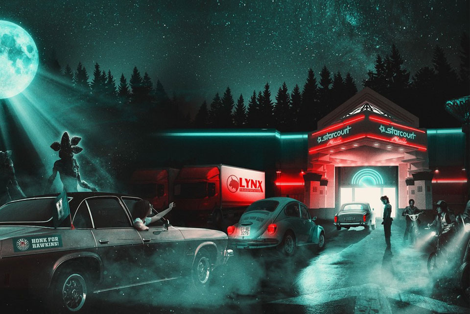 Stranger Things Drive-Into Experience