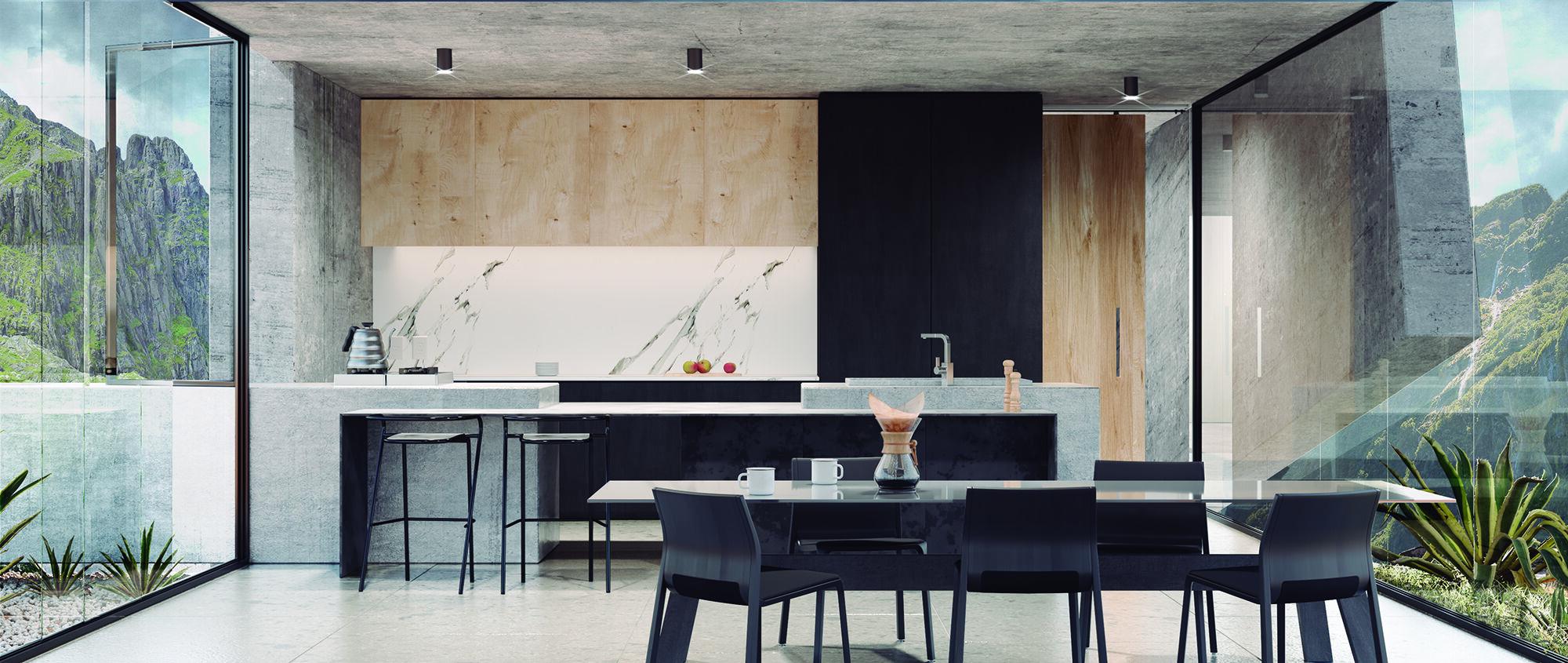 WTBA House kitchen