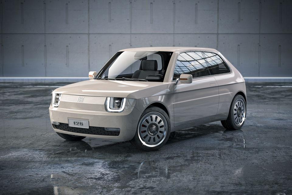 Fiat 126 Vision Coupe Concept