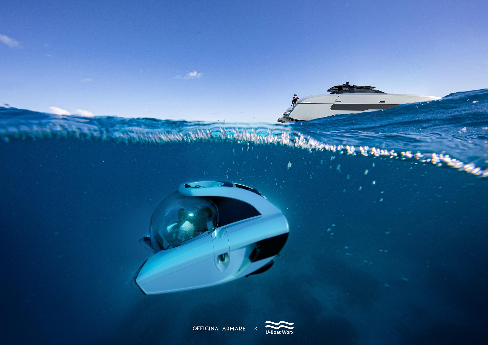 Officina Armare x U-Boat Aquanaut Catamaran