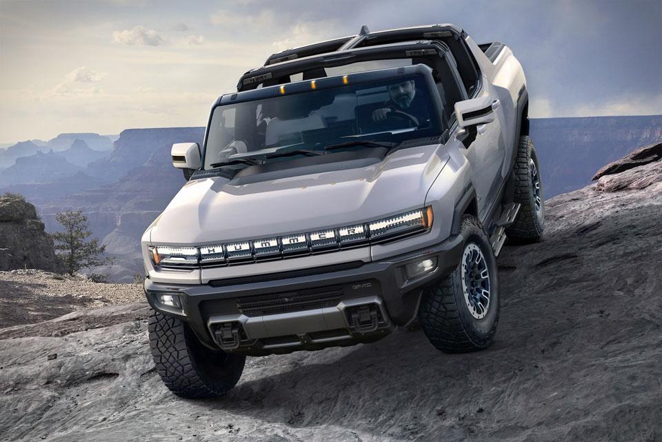 GMC Hummer EV Super-Truck