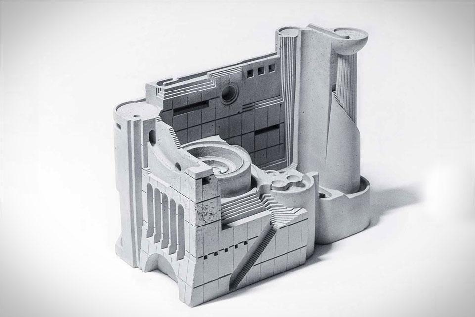 Kinetic Desktop Sculpture