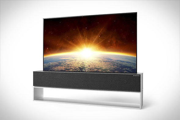 LG Rollable OLED TV RX