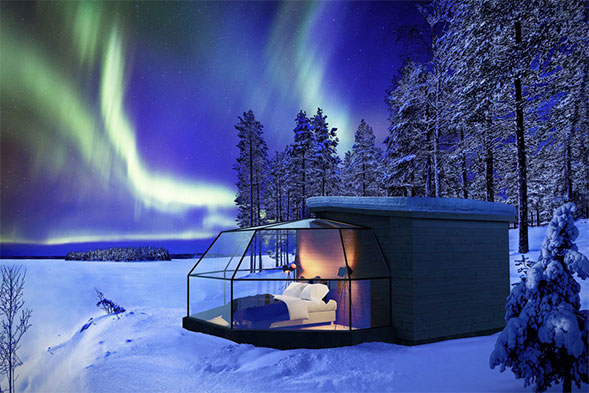 Finland's Arctic Fox Igloos