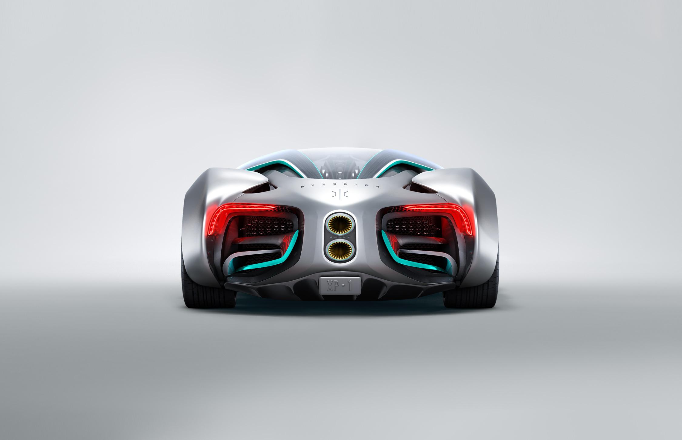 Hyperion XP-1 Hydrogen-Powered Supercar
