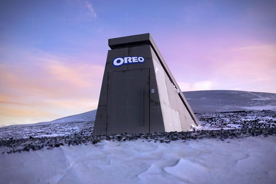 Oreo Doomsday Vault for Its Famous Recipe