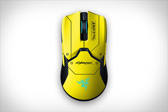 Razer Viper Ultimate Cyberpunk 2077 Gaming Mouse Edition