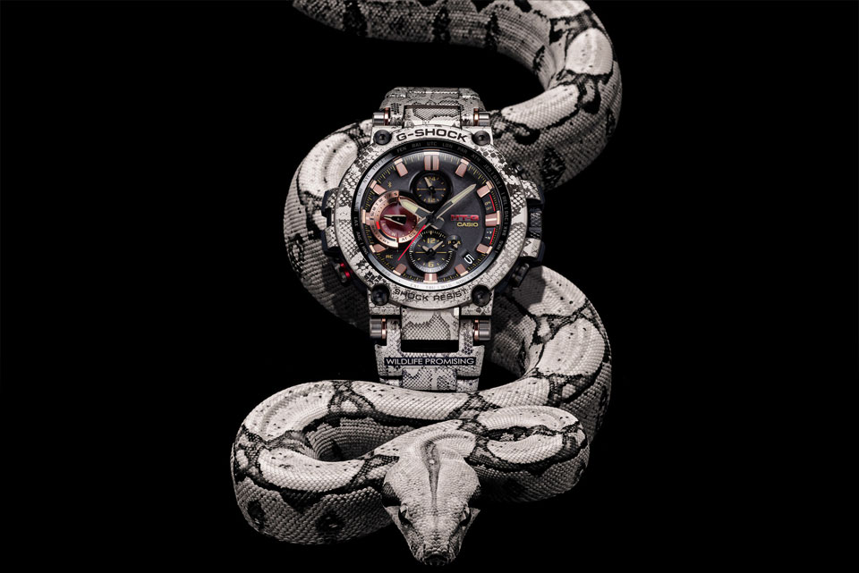 Wildlife Promising x G-SHOCK MTG-B1000WLP1 Watch