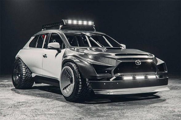 Toyota RAV4 Rally Car Concept