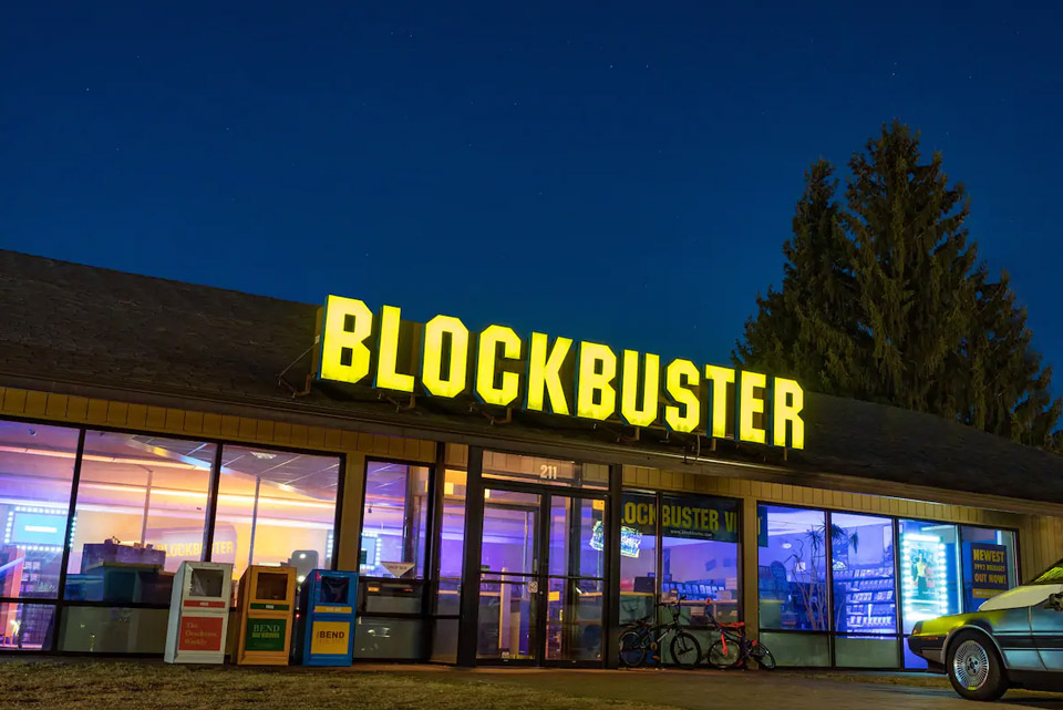 The Last Blockbuster Sleepover