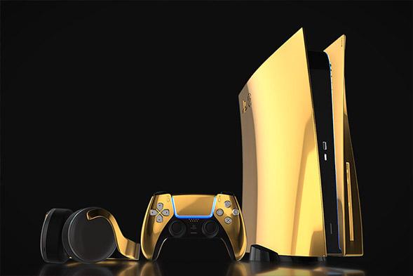 24K Gold Sony PlayStation 5
