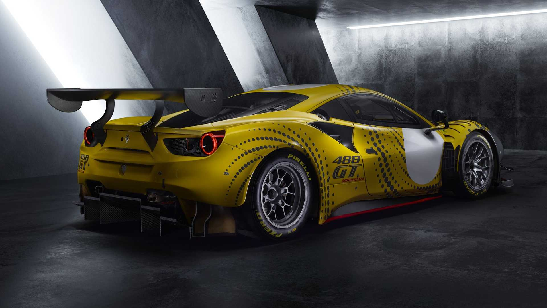 Ferrari 488 GT Modificata Track Car