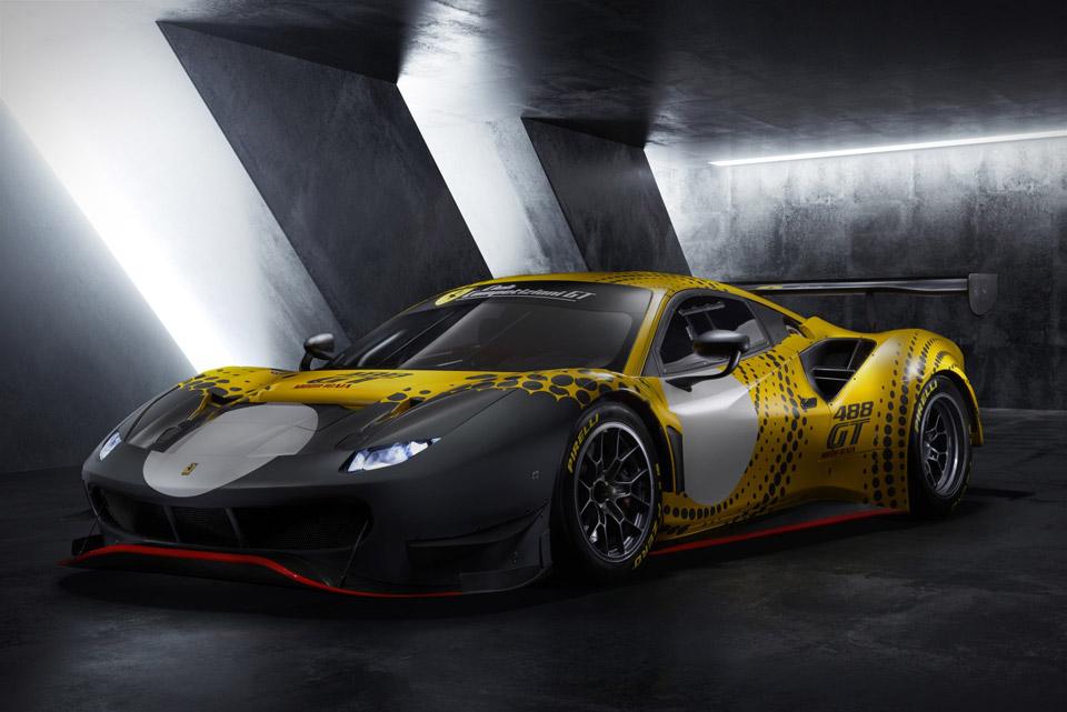 Ferrari 488 GT Modificata Track Car