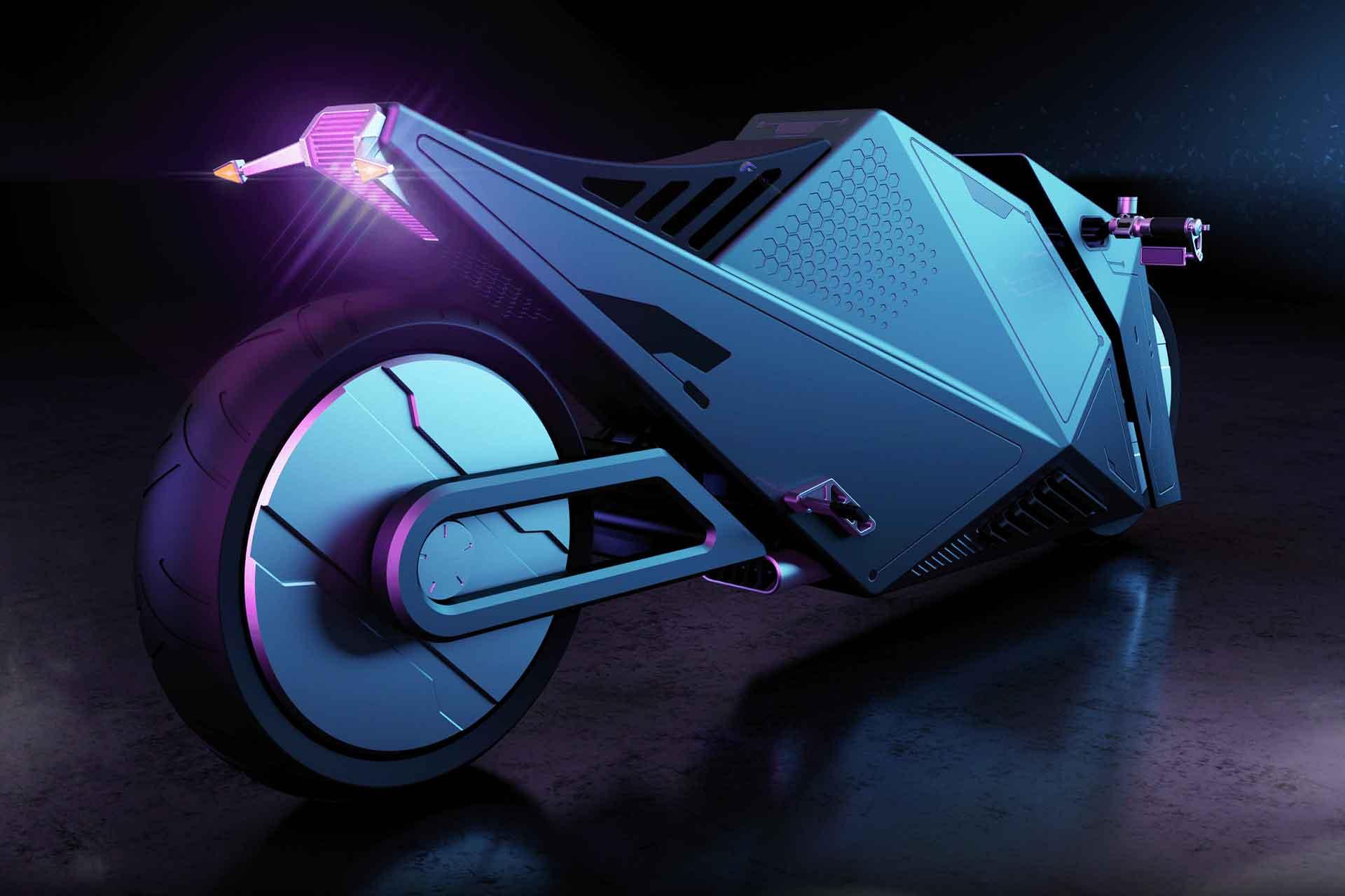 Rimac Hyper Cyber Motorcycle Concept