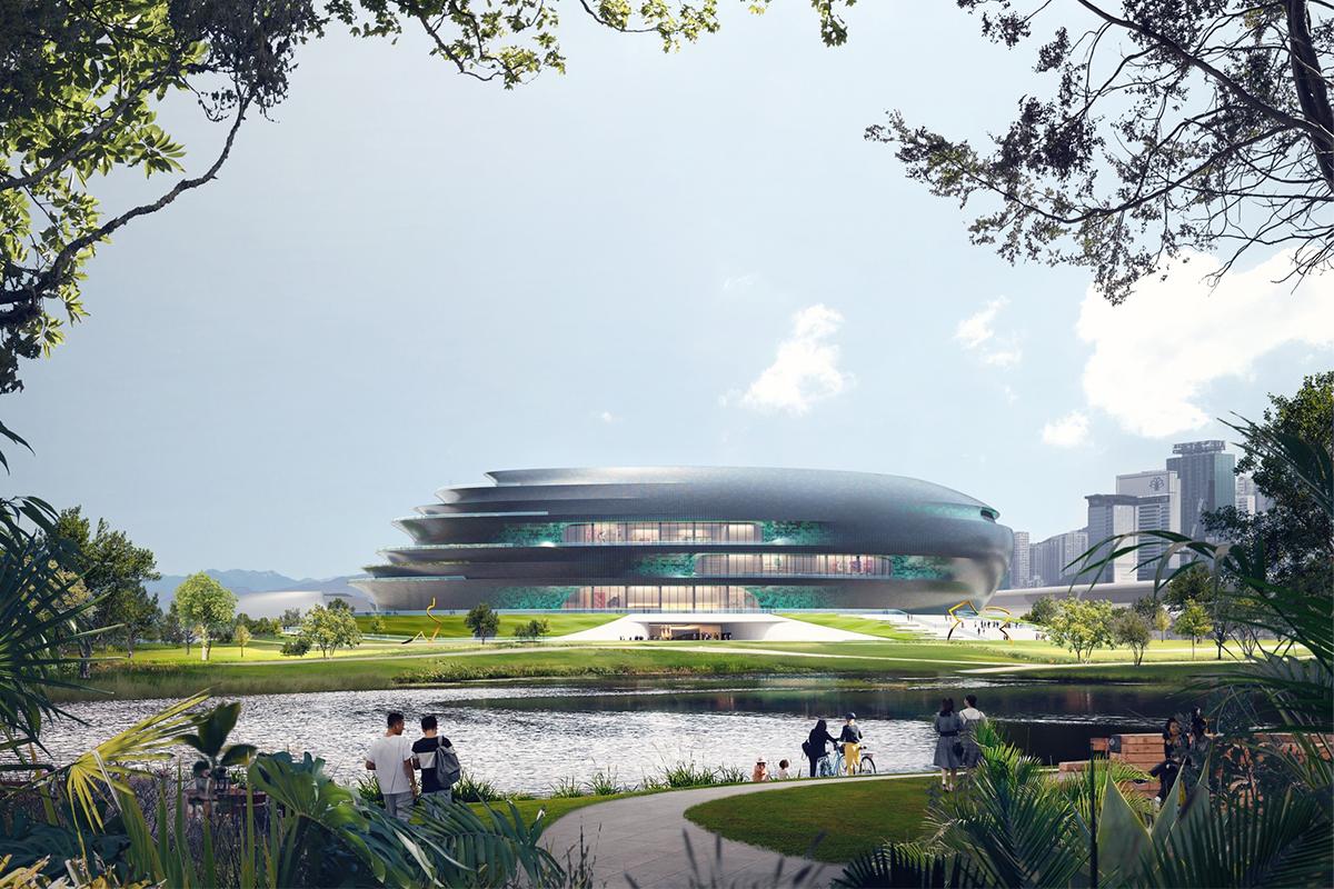 Zaha Hadid Architects Shenzhen's Science & Technology Museum