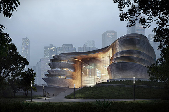 Zaha Hadid Architects Shenzhen's Science & Technology Museum