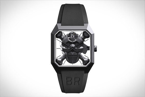 Bell & Ross BR 01 Cyber Skull Watch