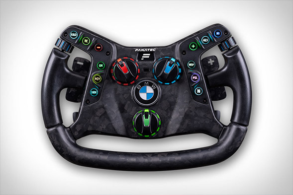 Fanatec x BMW M4 GT3 Podium Steering Wheel