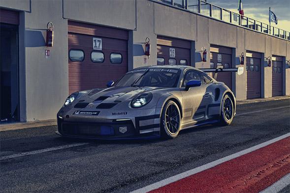 2021 Porsche 911 GT3 Cup Racer Car