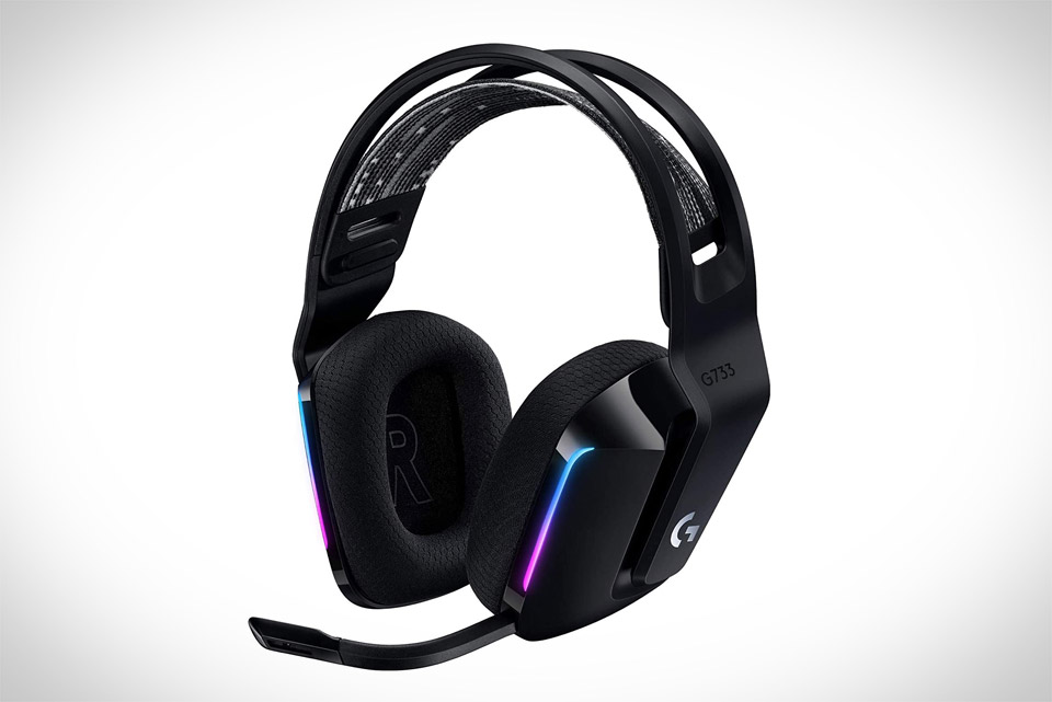 Logitech G733 Lightspeed Wireless Gaming Headset